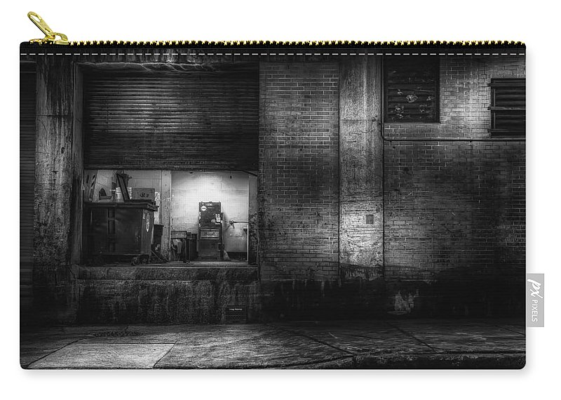 City Carry-all Pouch featuring the photograph Loading Dock by Scott Norris