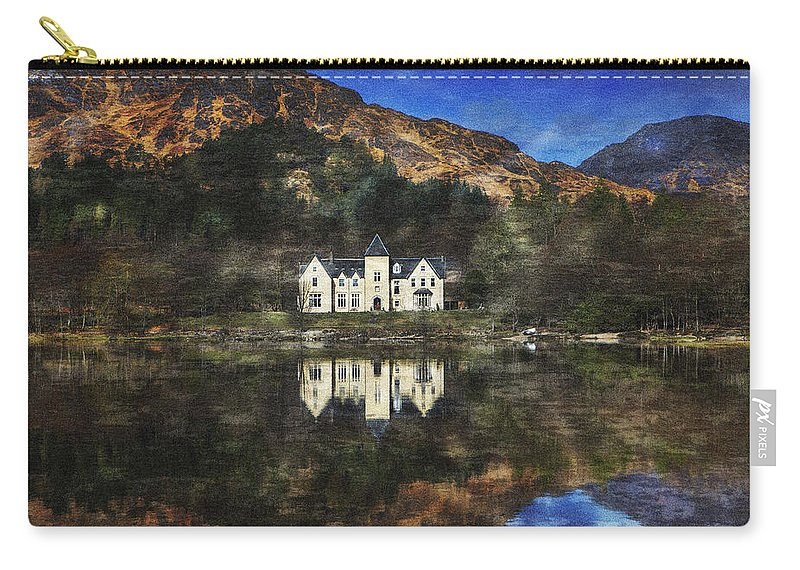 House Carry-all Pouch featuring the photograph Loch Shiel Mk.2 by David Hare