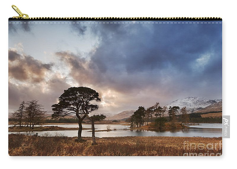 Loch Tulla Carry-all Pouch featuring the photograph Loch Tulla by Rod McLean