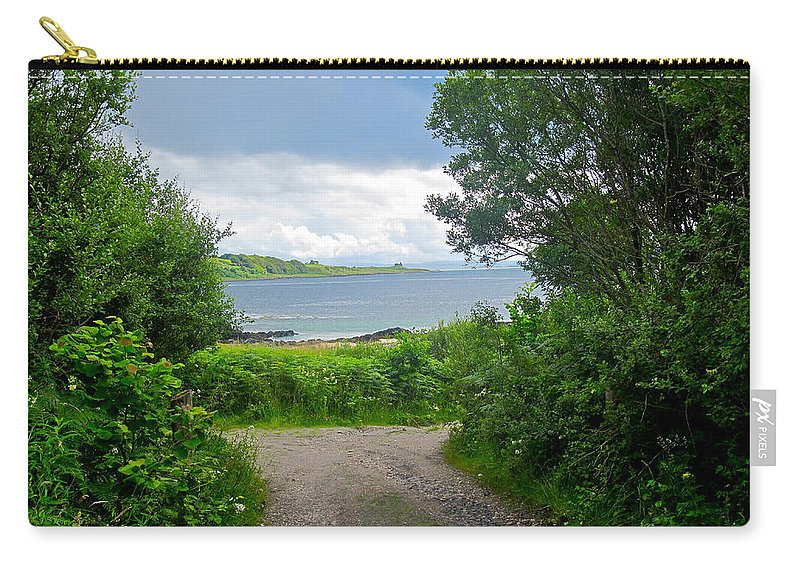 Scotland Carry-all Pouch featuring the photograph Lochaline Landscape by Denise Mazzocco