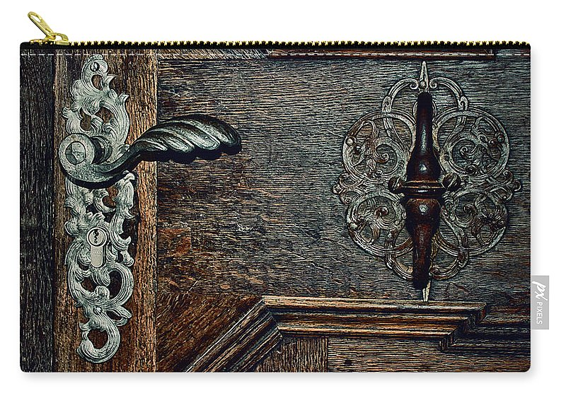 Photo Carry-all Pouch featuring the photograph Locked by Jutta Maria Pusl