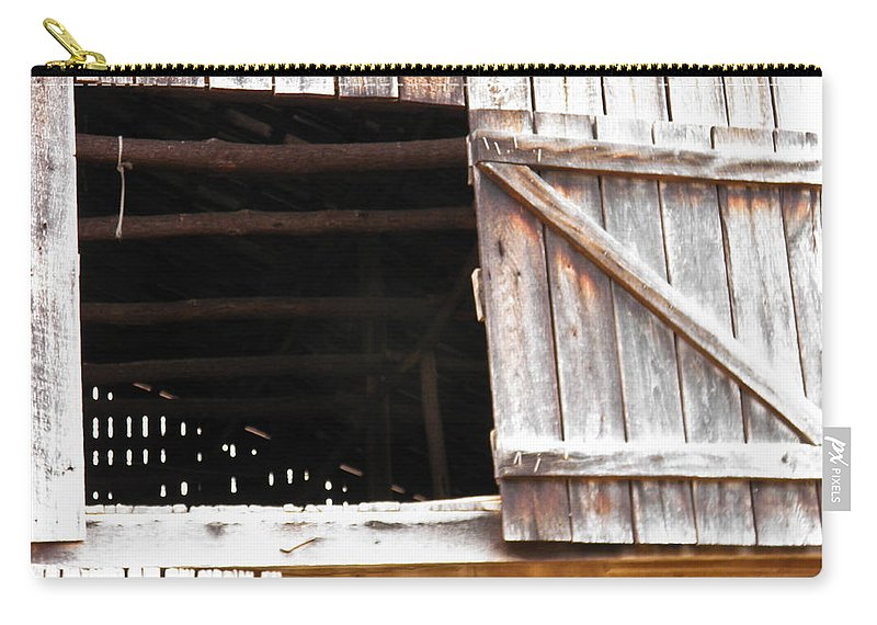 Barn Carry-all Pouch featuring the photograph Lofty Hieghts by Nick Kirby