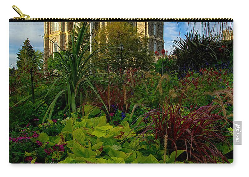 Logan Temple Carry-all Pouch featuring the photograph Logan Temple by David Andersen