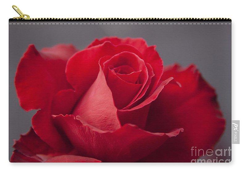 Rose Carry-all Pouch featuring the photograph Lokelani Lokeulaula by Sharon Mau