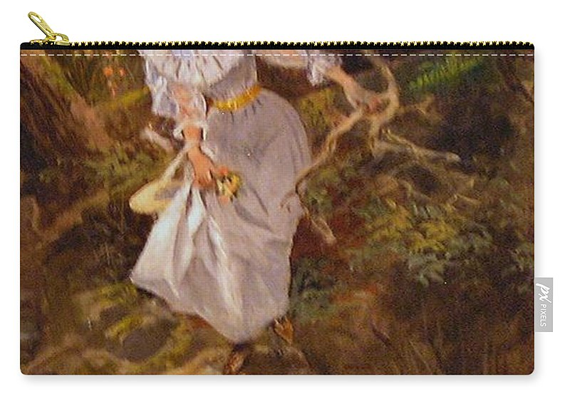 Charles Russell Carry-all Pouch featuring the digital art Lolly by Charles Russell