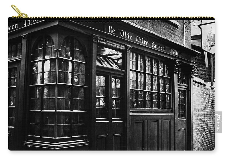20th Century Carry-all Pouch featuring the photograph London: Tavern by Granger