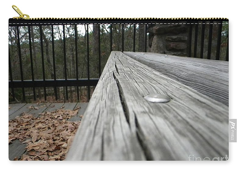Board Carry-all Pouch featuring the photograph Long Board by Nathanael Smith