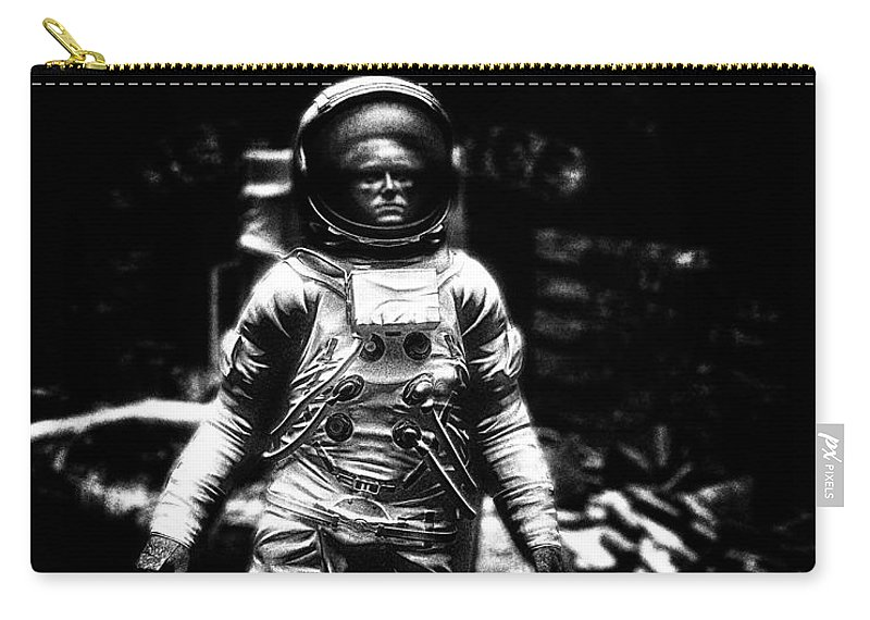 Astronaut Carry-all Pouch featuring the photograph Long Time Gone by Bob Orsillo