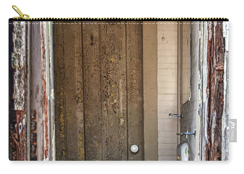 Guy Whiteley Photography Carry-all Pouch featuring the photograph Look Through My Window by Guy Whiteley