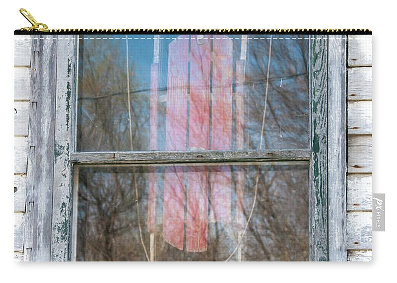 Guy Whiteley Photography Carry-all Pouch featuring the photograph Look Through My Window II by Guy Whiteley