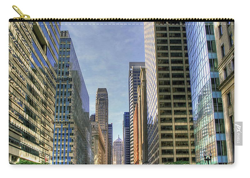 Canon Carry-all Pouch featuring the photograph Looking South On Lasalle by Steven K Sembach