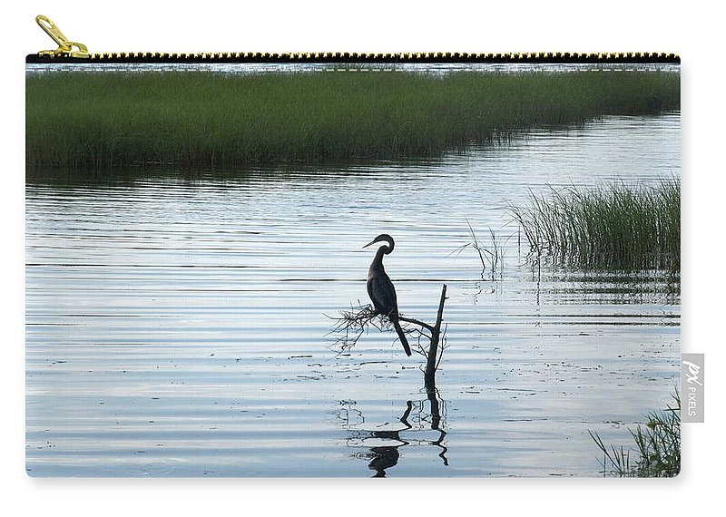 Lookout Carry-all Pouch featuring the photograph Lookout by Jo Jurkiewicz
