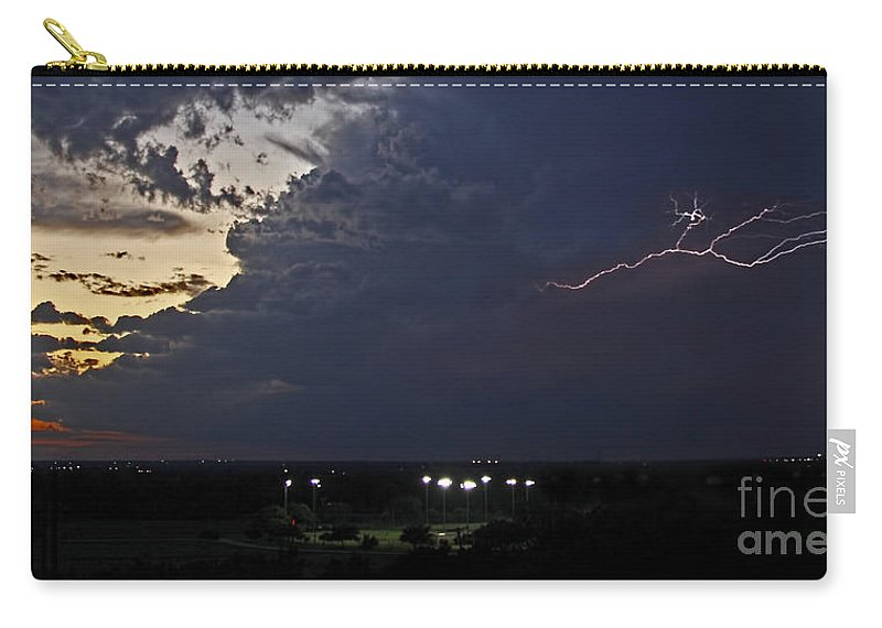 Looks Like Time To Call This One Off Carry-all Pouch featuring the photograph Looks Like Time To Call This Off by Gary Holmes