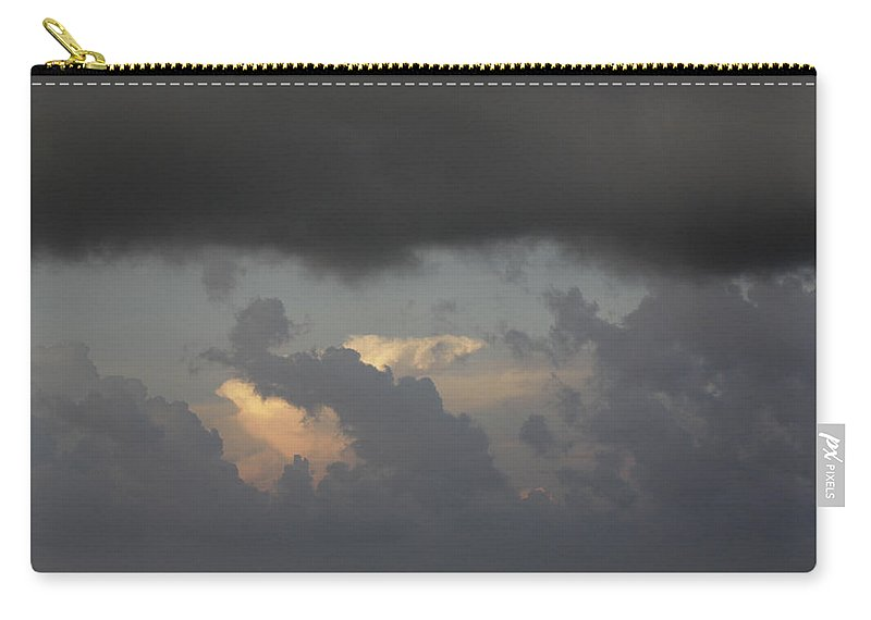 Looming Carry-all Pouch featuring the photograph Looming by Jean Macaluso