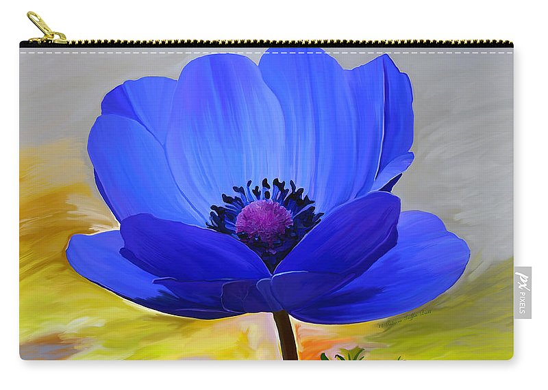 Fine Art Carry-all Pouch featuring the mixed media Lord Lieutenant by Patricia Griffin Brett