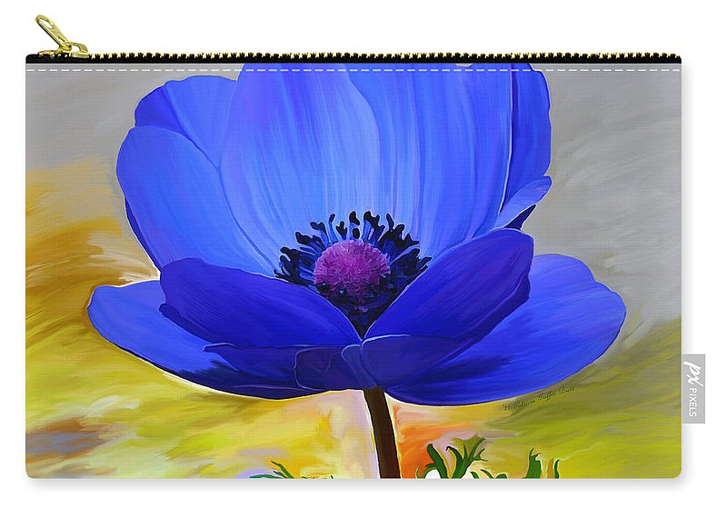 Fine Art Carry-all Pouch featuring the painting Lord Lieutenant by Patricia Griffin Brett
