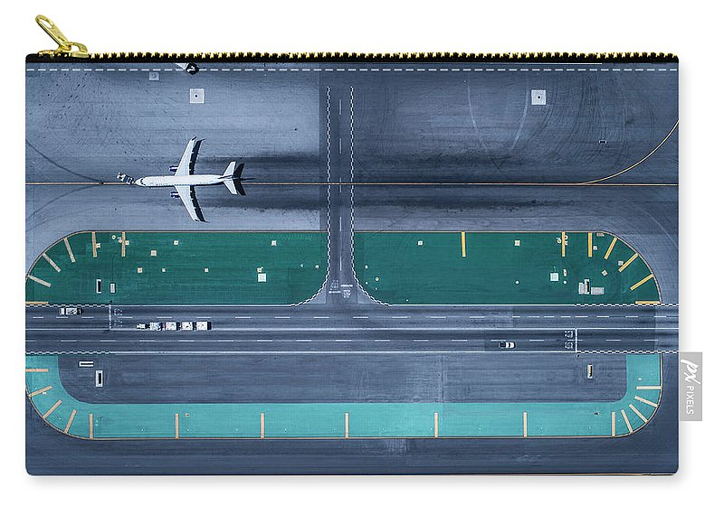 California Carry-all Pouch featuring the photograph Los Angeles International Airportlax by Michael H