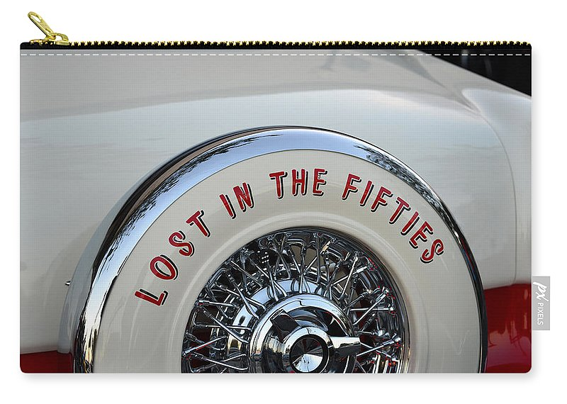 Lost In The Fifties Carry-all Pouch featuring the photograph Lost In The Fifties by David Lee Thompson