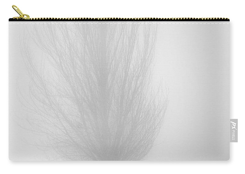 Trees Carry-all Pouch featuring the photograph Lost In The Fog by Guido Montanes Castillo