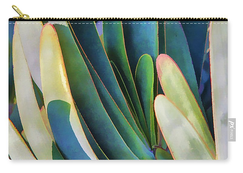 Agave Carry-all Pouch featuring the photograph Lots Of Fingers by Scott Campbell