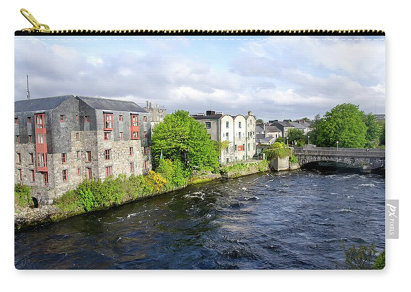 Tranquility Carry-all Pouch featuring the photograph Lough Corrib Galway City Ireland by M Timothy O'keefe