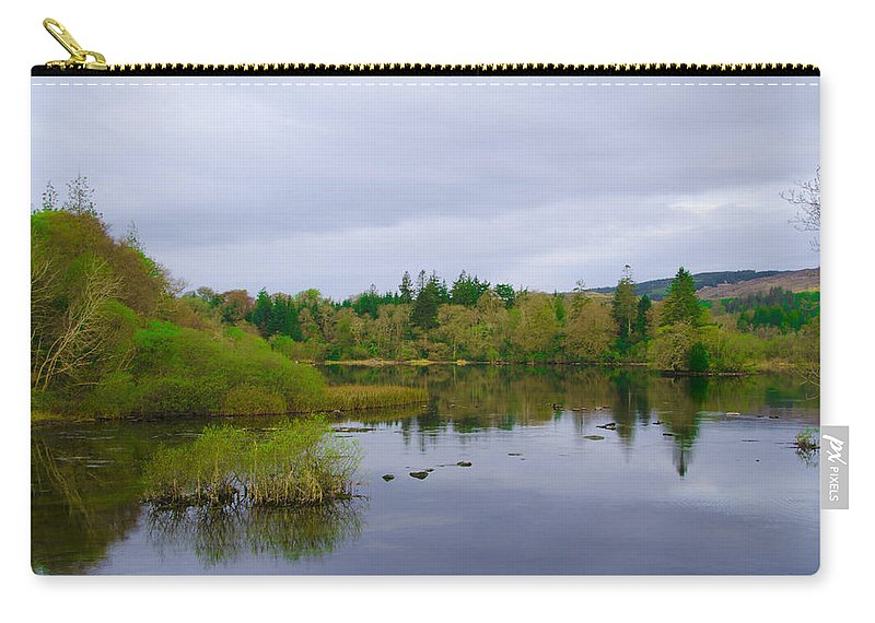 Lough Carry-all Pouch featuring the photograph Lough Eske In The Morning by Bill Cannon