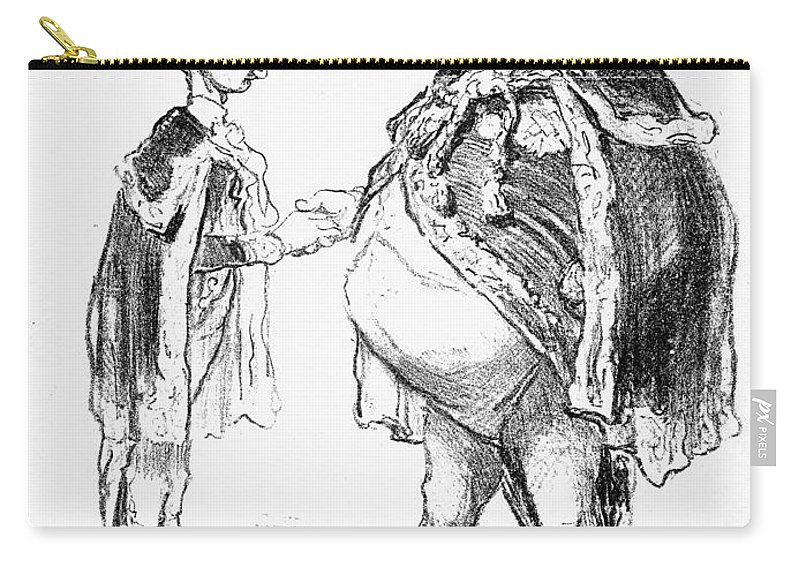 19th Century Carry-all Pouch featuring the photograph Louis-d�sir� V�ron by Granger