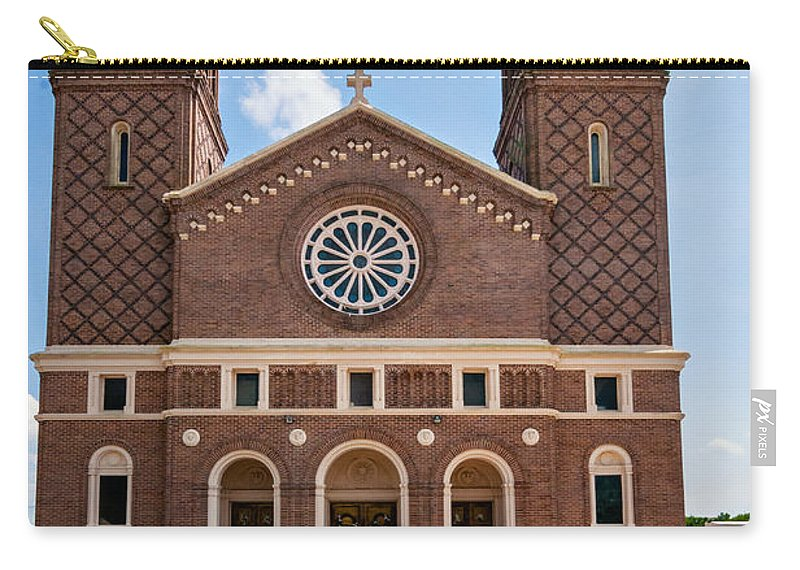 Steve Harrington Carry-all Pouch featuring the photograph Louisiana Church by Steve Harrington