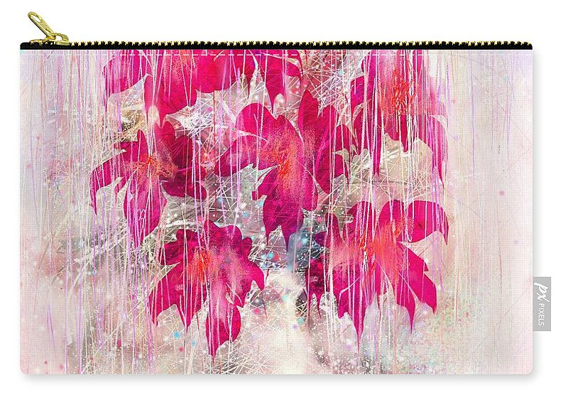 Love Carry-all Pouch featuring the digital art Love And Tears by Rachel Christine Nowicki