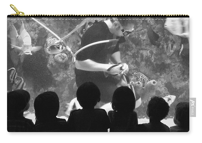 Kid Carry-all Pouch featuring the photograph Love Being A Kid by Andrea Anderegg