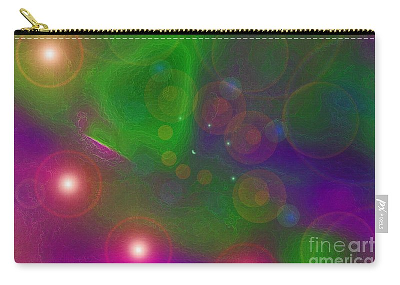 First Star Carry-all Pouch featuring the mixed media Love Dreams By Jrr by First Star Art