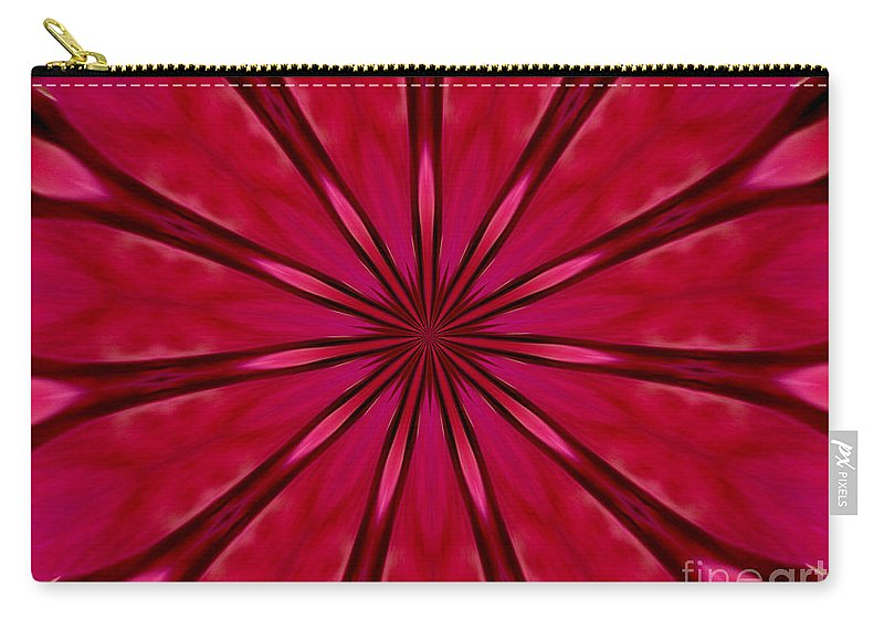 Orchids Carry-all Pouch featuring the photograph Love In An Orchid Kaleidoscope by Rose Santuci-Sofranko