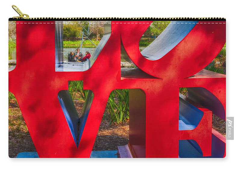 Love Carry-all Pouch featuring the photograph Love In City Park New Orleans by Kathleen K Parker