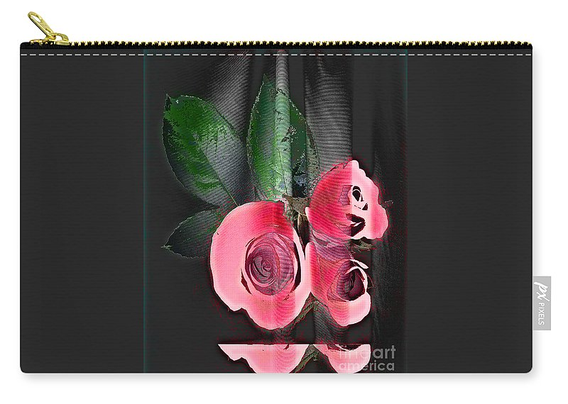 Digital Image Carry-all Pouch featuring the digital art Lovely by Yael VanGruber