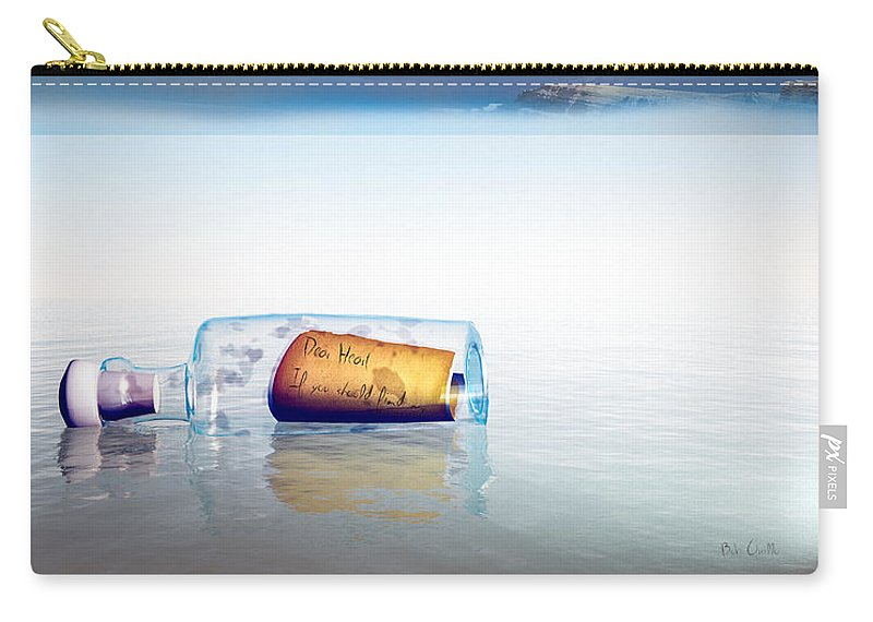 Airplane Carry-all Pouch featuring the photograph Lovers Lost And Found by Bob Orsillo