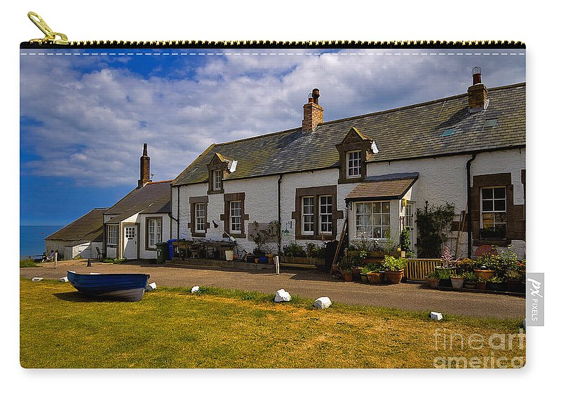 Travel Carry-all Pouch featuring the photograph Low Newton By The Sea by Louise Heusinkveld