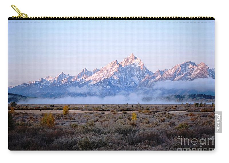 Clouds Carry-all Pouch featuring the photograph Low Sunrise Clouds by Deanna Cagle