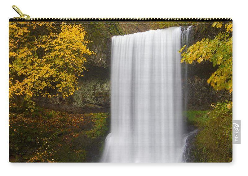 North America Carry-all Pouch featuring the photograph Lower South Falls by Patricia Davidson