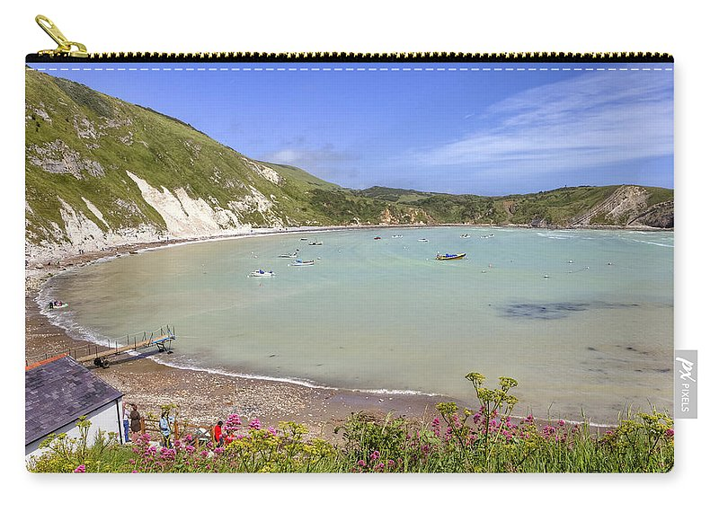 Lulworth Cove Carry-all Pouch featuring the photograph Lulworth Cove by Joana Kruse