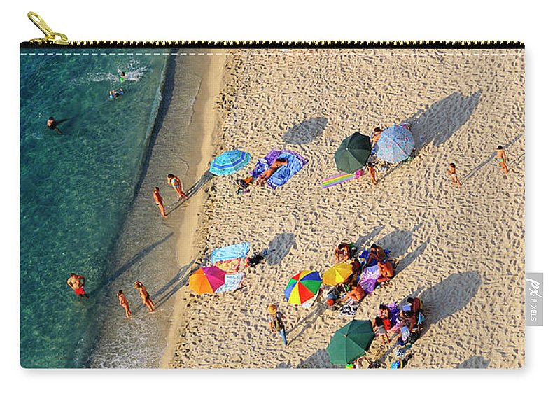 Water's Edge Carry-all Pouch featuring the photograph Luomo Sogna Di Volare - Man Dream To by Ph Giuseppe D'amico