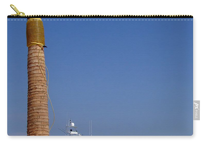 Hurghada Carry-all Pouch featuring the photograph Luxury Yachts 03 by Antony McAulay