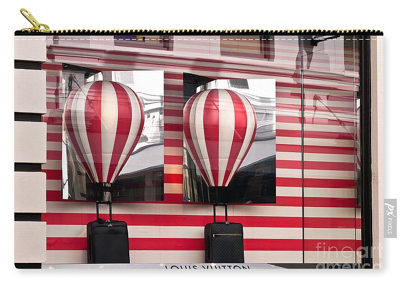 Louis Vuitton Carry-all Pouch featuring the photograph Lv Hot Air Balloons 01 by Rick Piper Photography