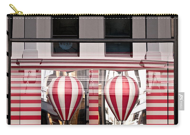 Louis Vuitton Carry-all Pouch featuring the photograph Lv Hot Air Balloons 02 by Rick Piper Photography