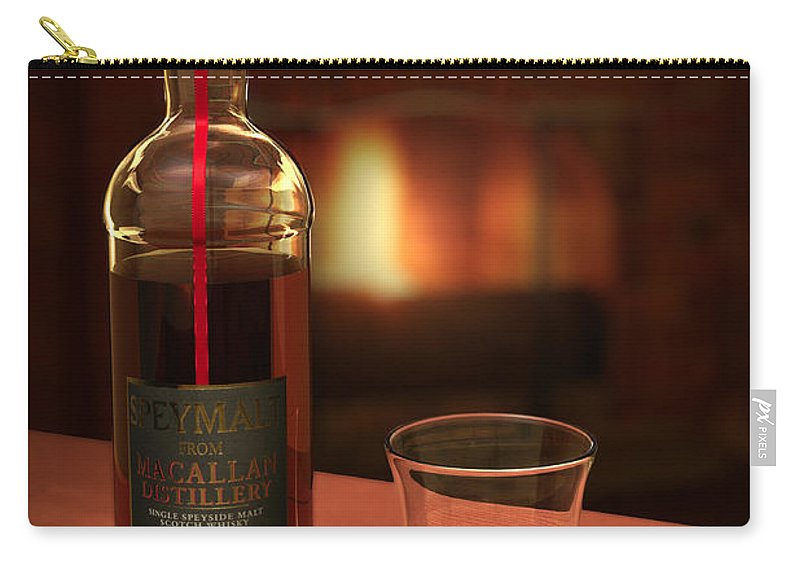 3d Carry-all Pouch featuring the photograph Macallan 1973 by Adam Romanowicz
