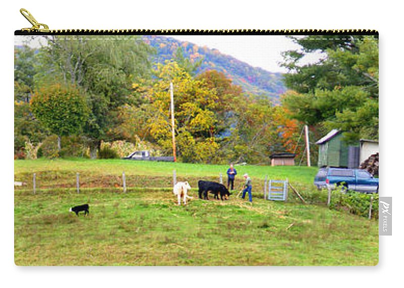 Duane Mccullough Carry-all Pouch featuring the photograph Mac's Farm In Balsam Grove 2 by Duane McCullough