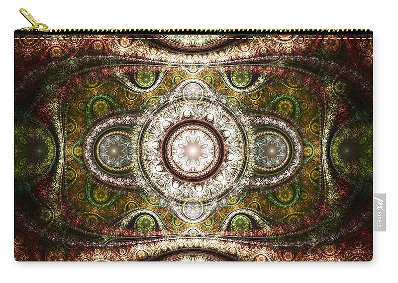 Malakhova Carry-all Pouch featuring the digital art Magic Carpet by Anastasiya Malakhova
