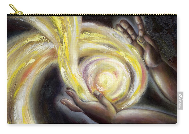 Angel Carry-all Pouch featuring the painting Magic by Hiroko Sakai