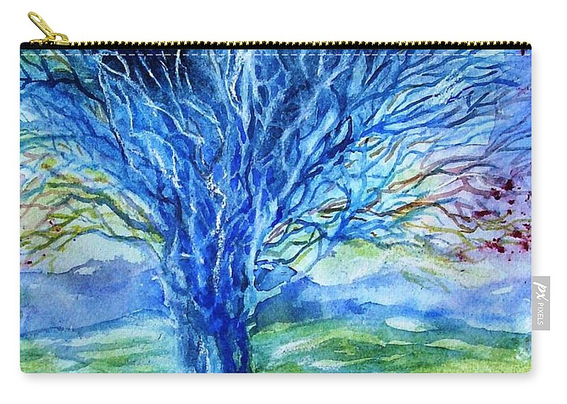 Magic Thorn Tree The Celtic Tree Of Life Carry All Pouch For Sale By