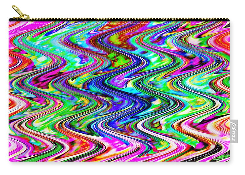 Digital Image Carry-all Pouch featuring the digital art Magic by Yael VanGruber