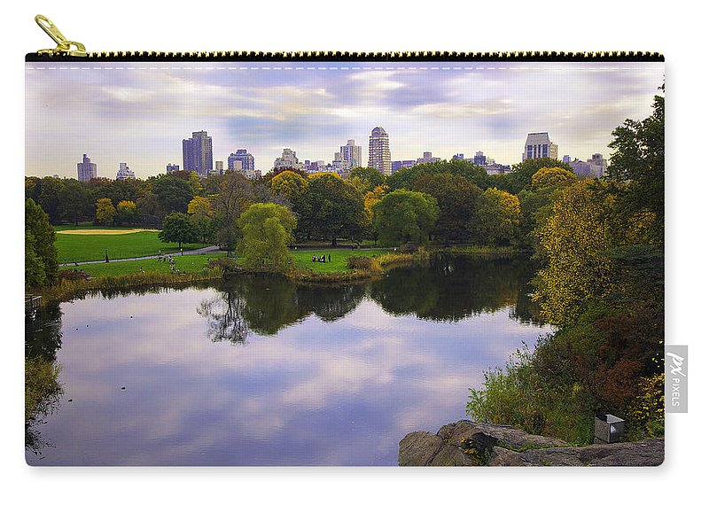 Pond Carry-all Pouch featuring the photograph Magical 2 - Central Park - Nyc by Madeline Ellis